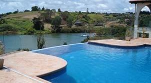 swimming pools design northland - stonecraft nz